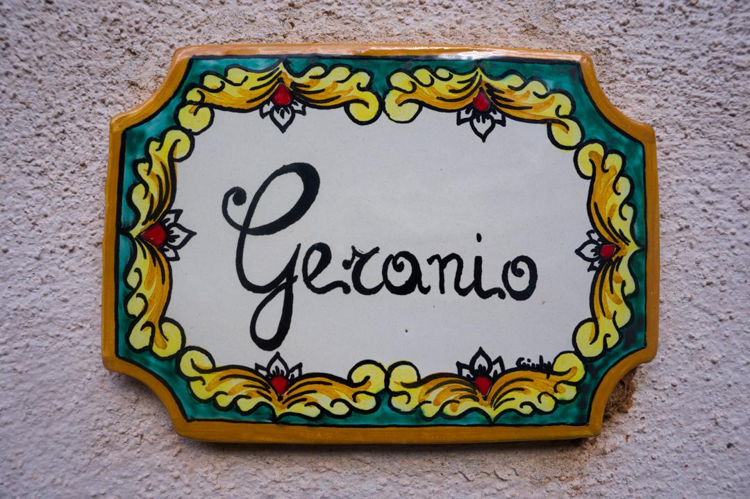 Agriturismo Castelluzzo - Geranio 01